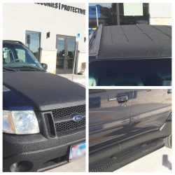 Ford SUV with LINE-X material at LINE-X of Austin