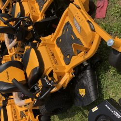 cub cadet lawn mower at LINE-X of Austin
