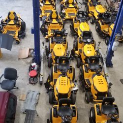 riding cub cadet mowers at LINE-X of Austin
