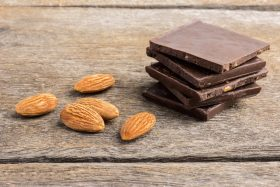 Magnesium-Rich Chocolate and Almonds