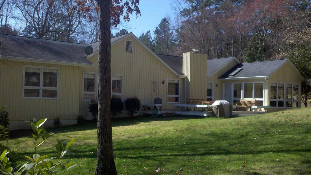 An exterior shot of LiveWell at Coker Hills.