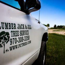 Lumber Jack & Jill Truck Decal