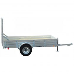 When you're looking for a strong, sturdy galvanized utility trailer, it's hard to beat this 3500 GVWR version.