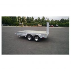 If you need a galvanized utility trailer that can carry up to 7,000 pounds, this is the one for you.