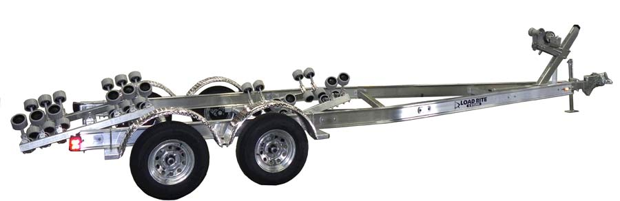 This large boat trailer is one of the best boat trailers for sale.