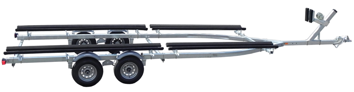 If you have a large pontoon boat, you'll want the best pontoon trailer for it.