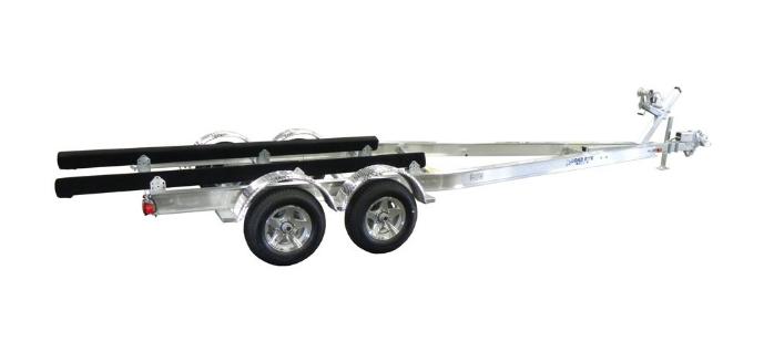 large boat trailer