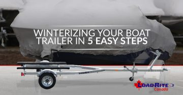 Winterizing Your Boat Trailer