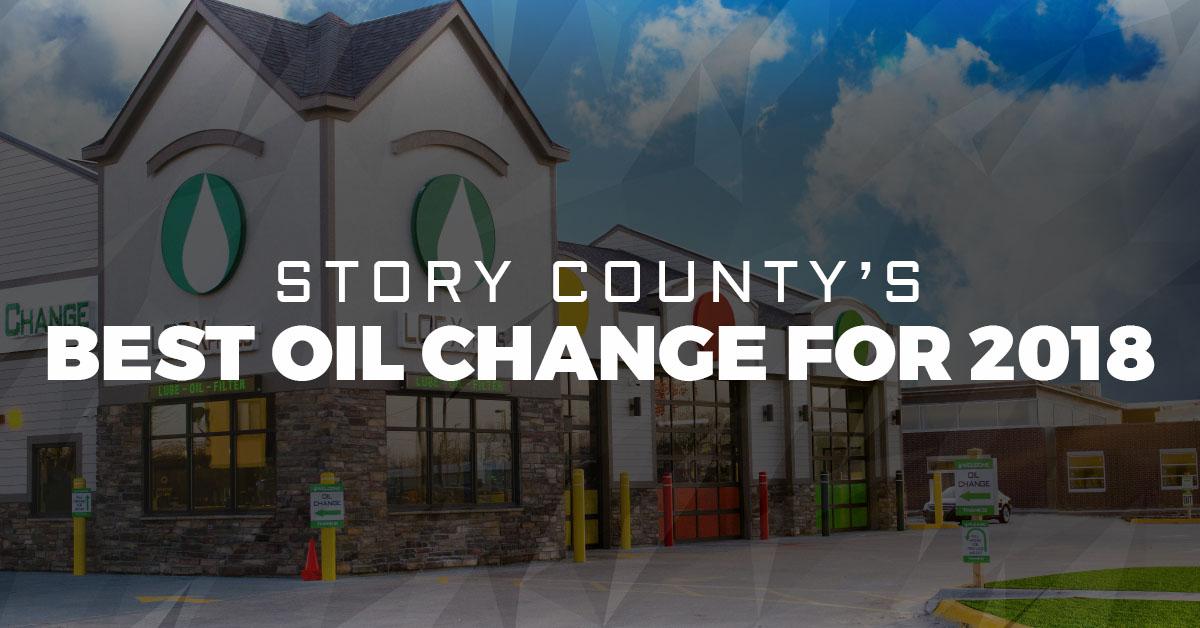 Best Oil Change >> Story County S Best Oil Change 2018 Oil Change Ankeny