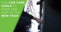 Five Car Care Goals featured image