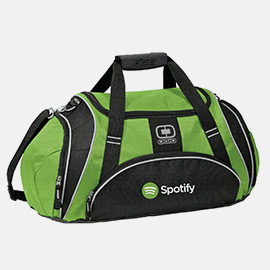 Gym bags can create corporate impressions when you make them branded items.