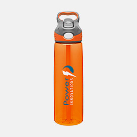 Screen printed water bottles are unique promotional products.