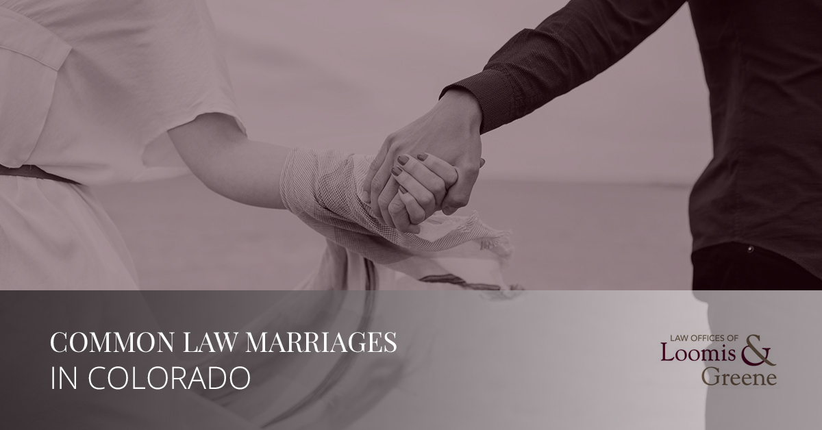 Common Law Marriages in Colorado