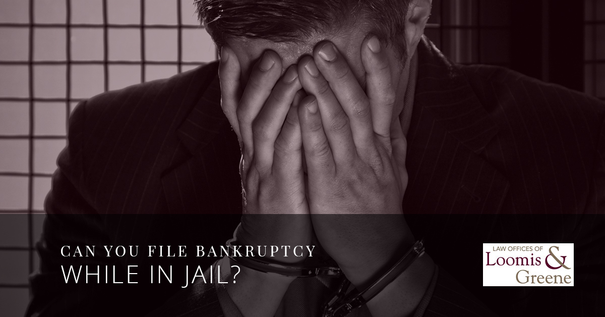 Can You File Bankruptcy While In Jail