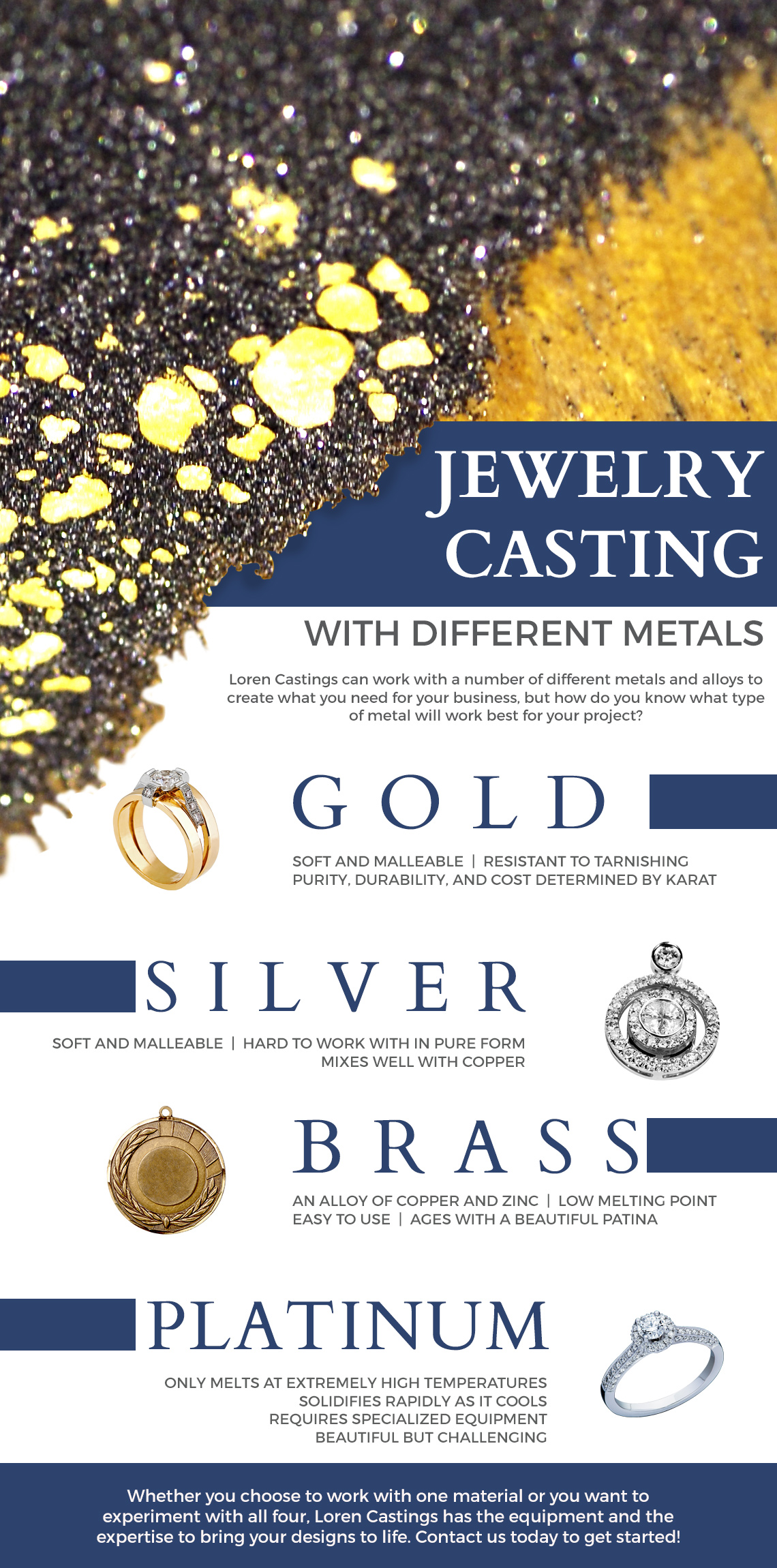 Your Guide To Jewelry Casting - Learn More About Our