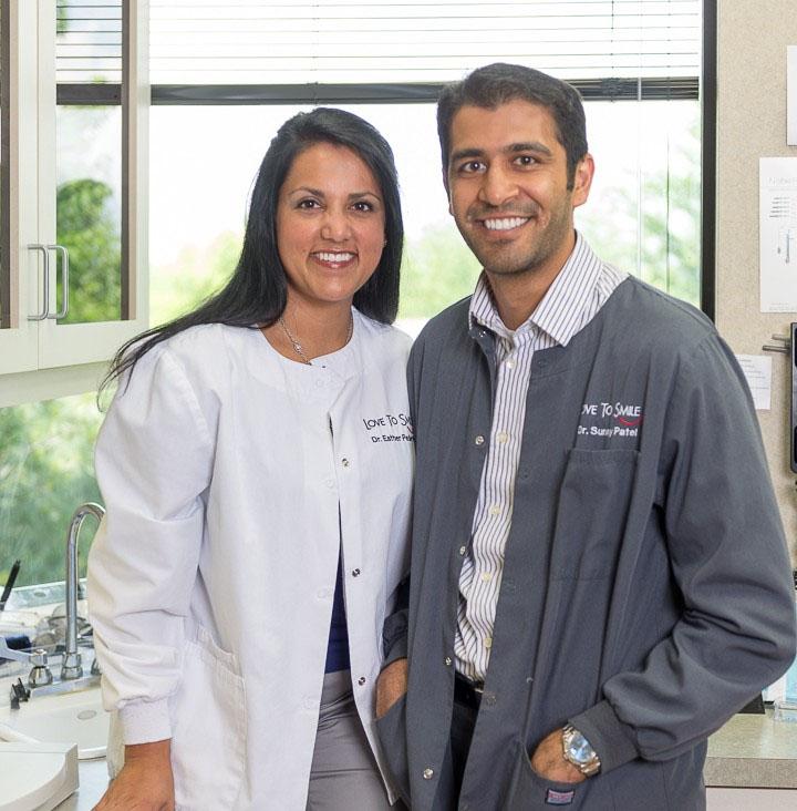Dr. Esther Pedersen, Dr. Sunny Patel