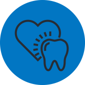 Heart and Tooth Icon