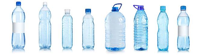 Water Bottles Banner