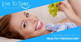 Keeping Your Teeth Healthy Through Diet