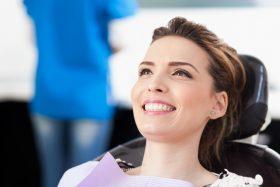 Smiling Dental Patient
