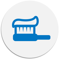 Toothbrush and Paste Icon