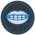 Toothy Smile Icon