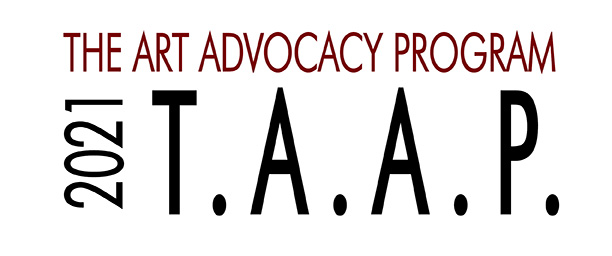 The Art Advocacy Program 2021 logo