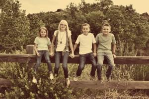 Just Kids Family Portrait