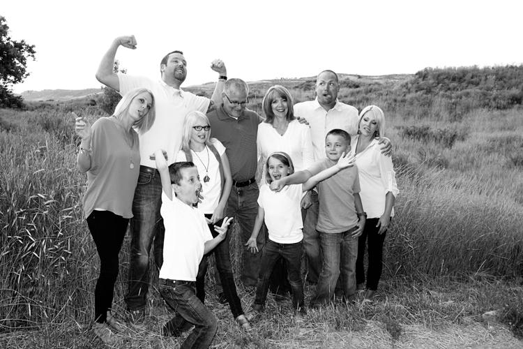 Fun family portrait.