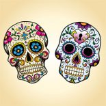 Day-of-the-Dead-Skulls
