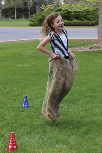 Lone-Tree-Sack-Race
