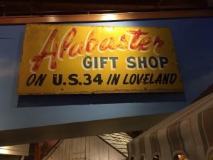 Proctor's Alabaster Shop sign