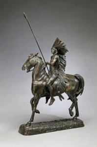 Indian on Horseback by Alexander Proctor