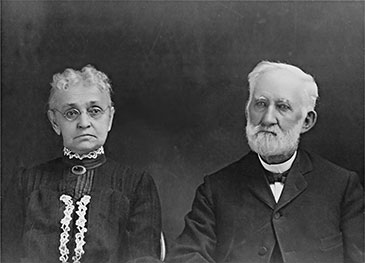 Margaret and William Osborn, early Loveland settlers