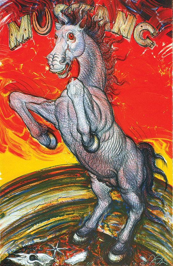 Mustang by Luis Jimenez
