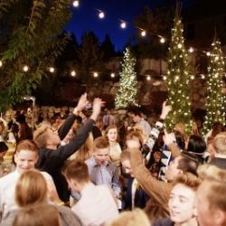 Outdoor Party Lighting in Utah