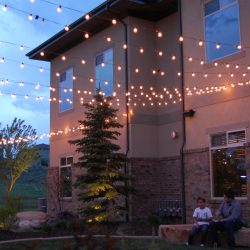 Outdoor String Lighting in Utah