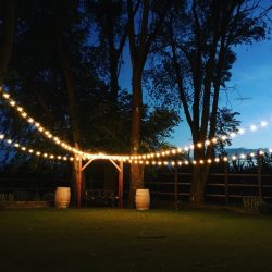 Professional Outdoor Party Lighting in Utah
