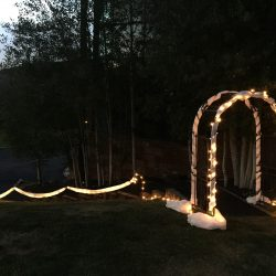 Outdoor Event Lighting Utah
