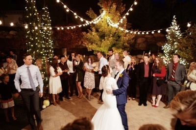 Professional Wedding Lighting in Utah