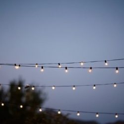 Outdoor String Lighting from Lumen Lighting in Utah
