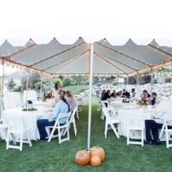 Outdoor Tent Lighting in Utah