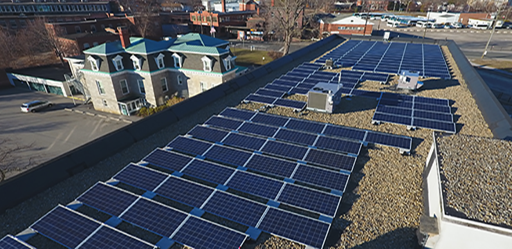 commercial solar for business