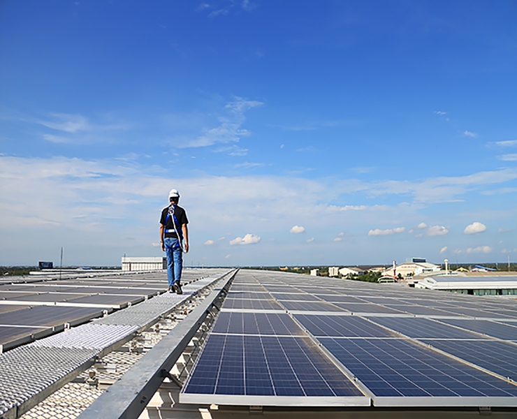 large commercial solar