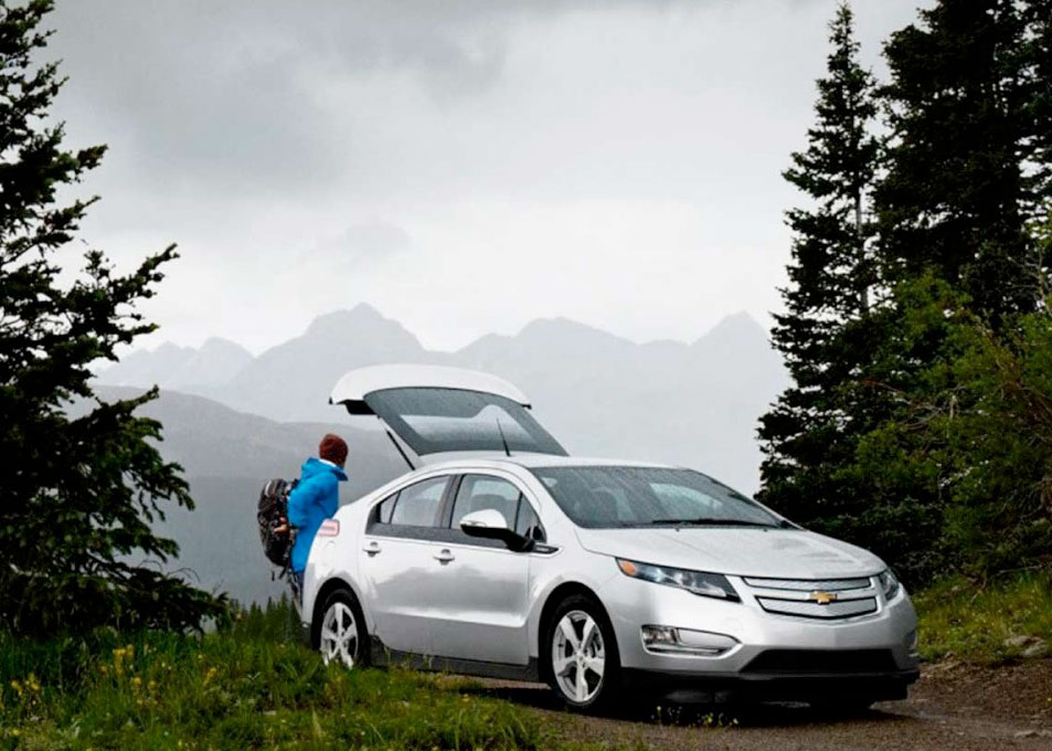 chevy volt plug in hybrid