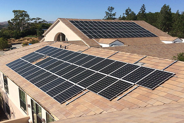 solar panel system that does not drill into your roof
