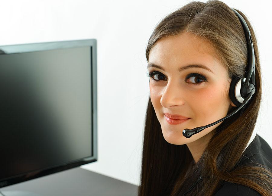 customer service person