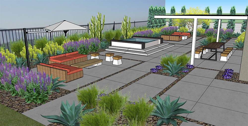 3D Virtual Modeling | Lux Landscape Design