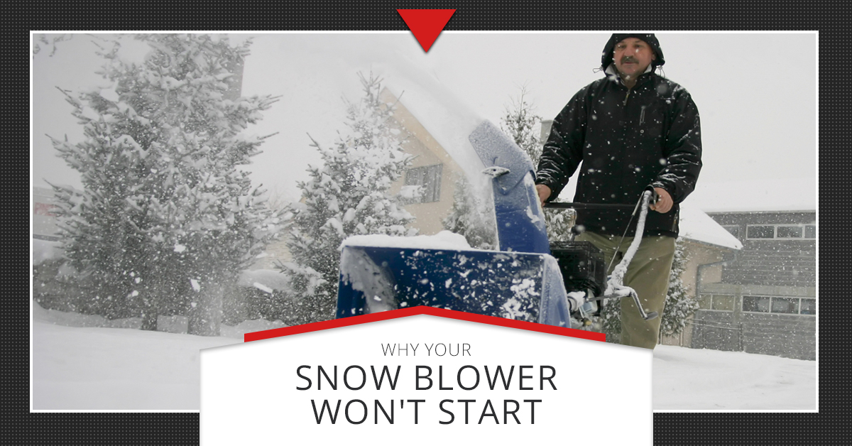 Small Engine Repair Longmont Why Your Snow Blower Won T Start