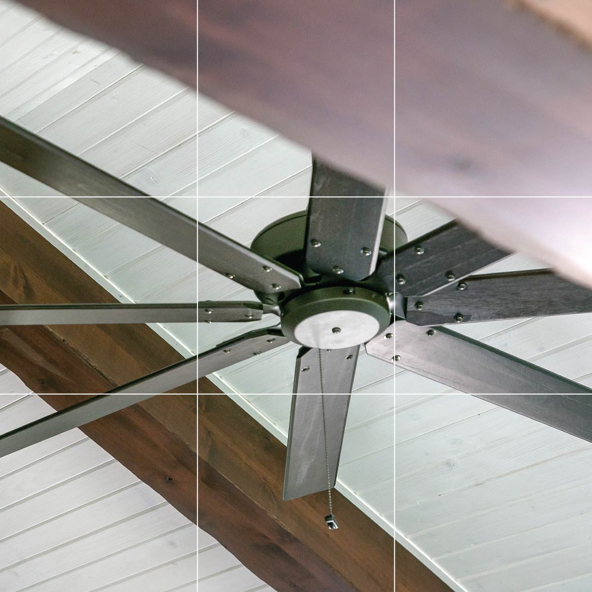 Large Residential Ceiling Fan